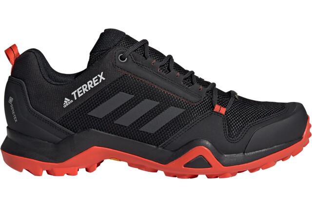 adidas TERREX AX3 Gore-Tex Wandelschoenen Waterbestendig Heren, core  black/carbon/active orange